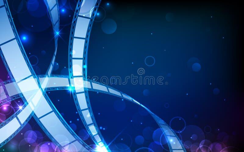Download Film reel stock vector. Image of flow, cinematography - 26453552