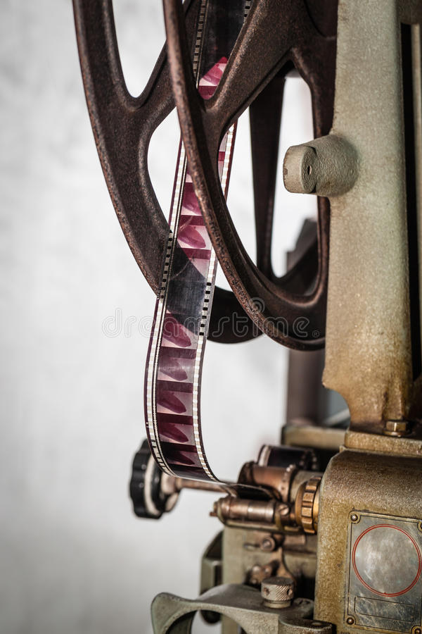 Film reel stock image