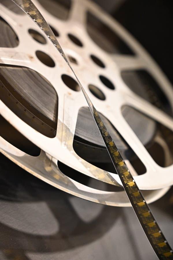 Film reel retro technology royalty free stock image