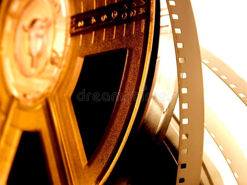 Film reel serie 3 stock photo