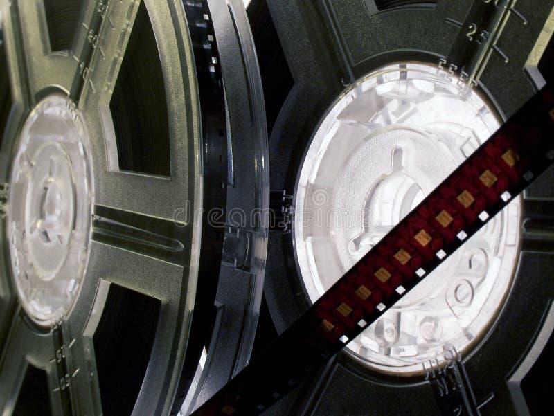 Film reel series 12 stock photo