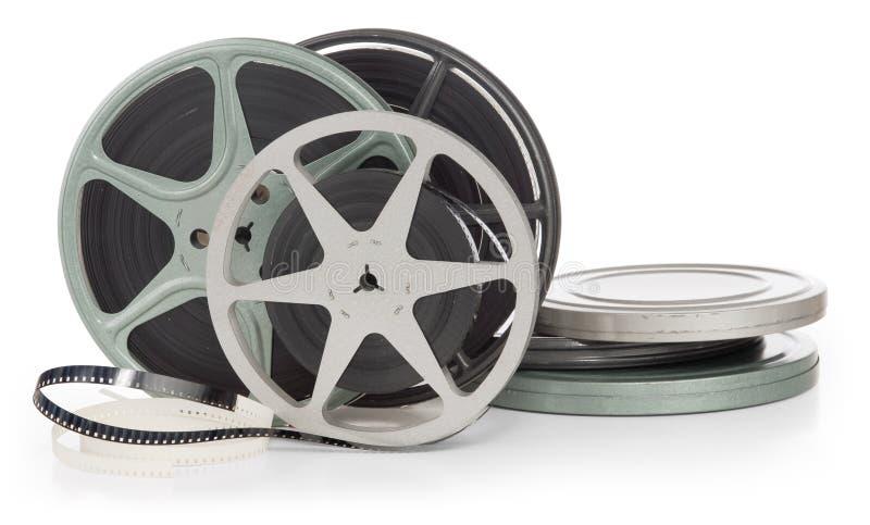 Film reels stock images