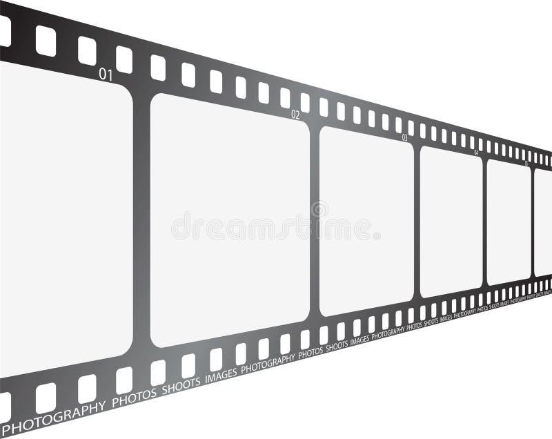 Film regardant le long illustration de vecteur
