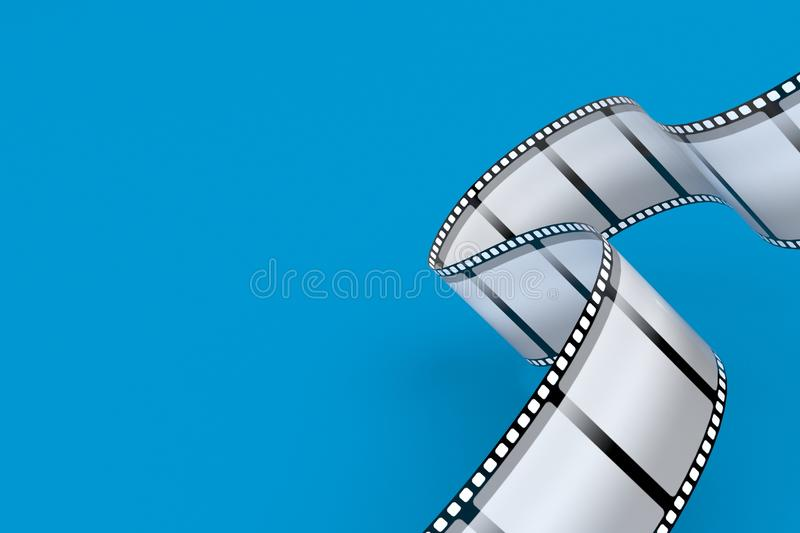 film remsan royaltyfri illustrationer
