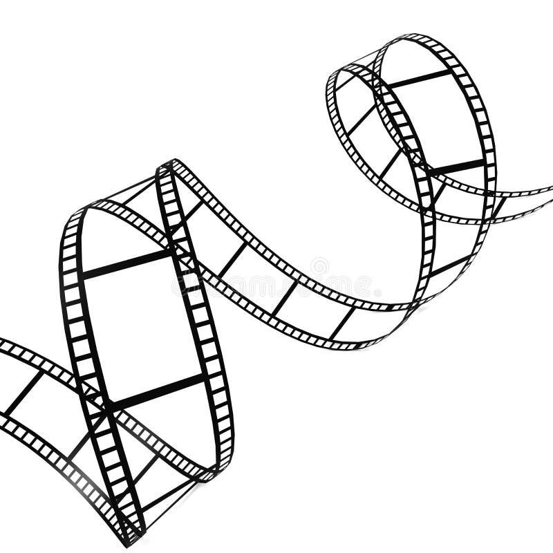film remsan royaltyfri illustrationer