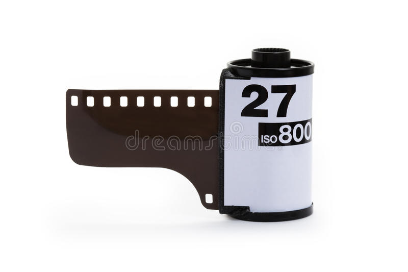 Film roll stock photography