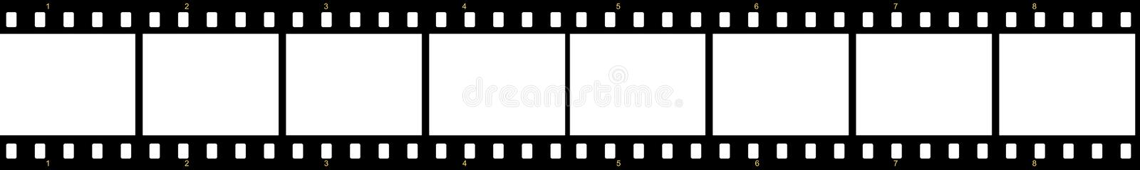 Download Film roll stock illustration. Illustration of negative - 26637424