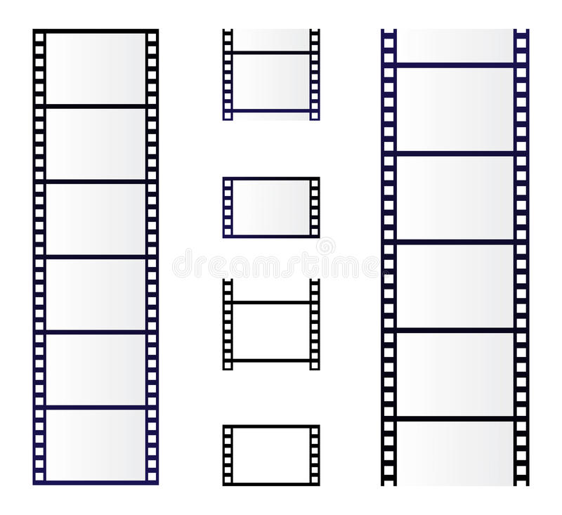 Film roll vector illustration