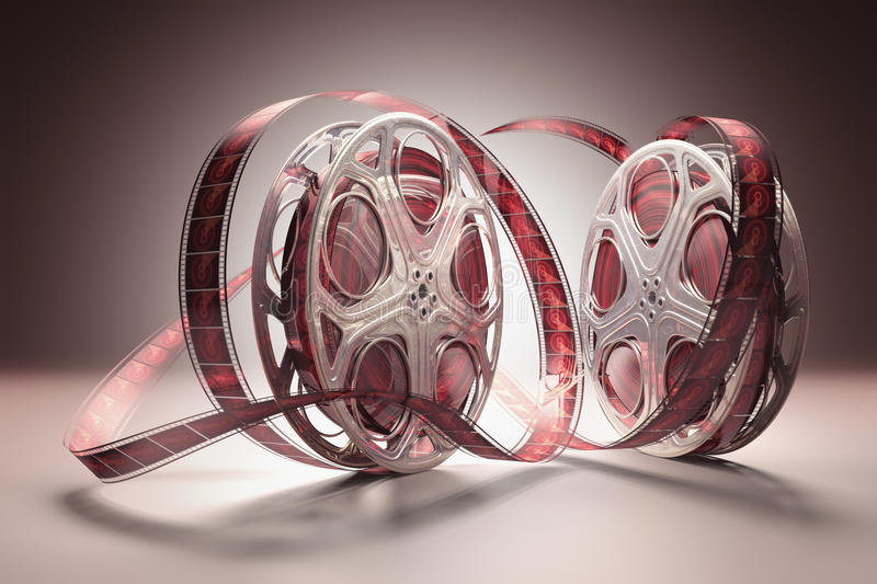 Film Roll stock illustration