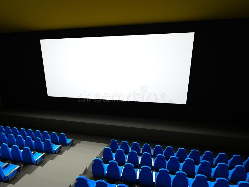 film sadza teatr ilustracji
