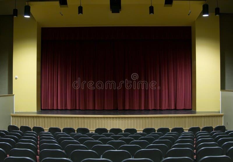 film sceny do teatru fotografia royalty free