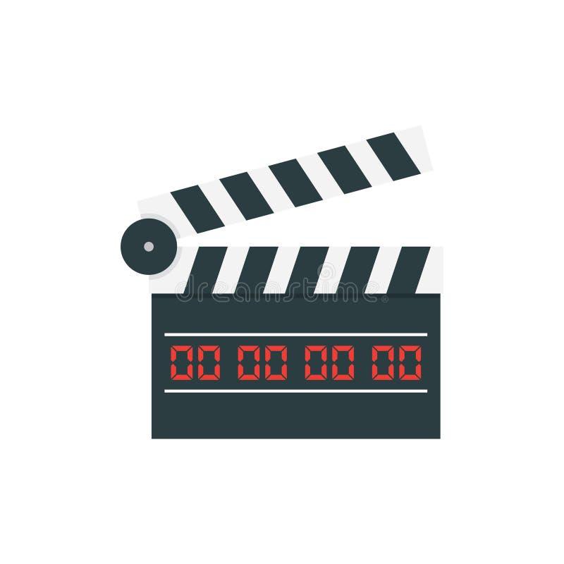 Film-Scharnierventil-Brett stock abbildung
