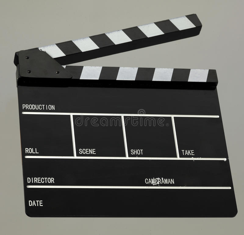Film-Scharnierventil-Vorstand stockfotografie
