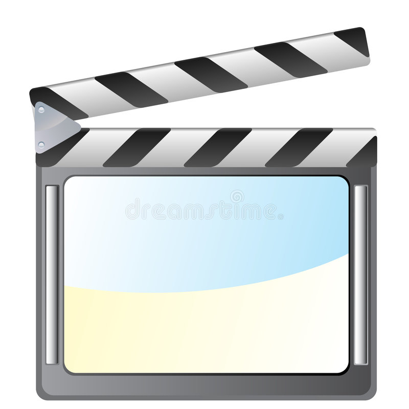 Download Film slate stock vector. Illustration of clipping, picture - 8837285