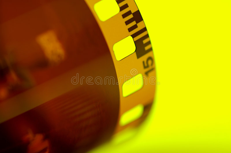 Film-Streifen 2 lizenzfreie stockfotos