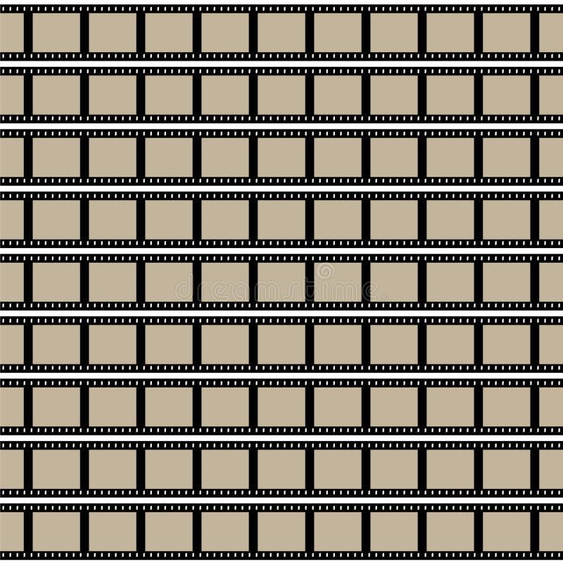 Download Film-Streifen-Vektor vektor abbildung. Illustration von filmstrip - 9082256