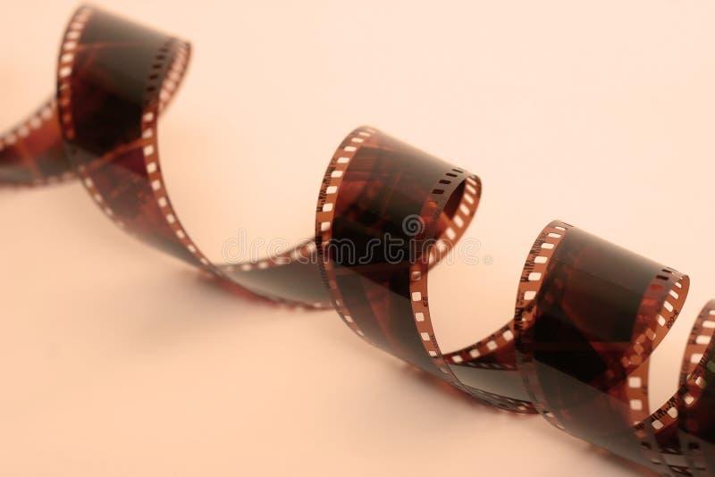 Film-Streifen-warme Töne lizenzfreies stockfoto