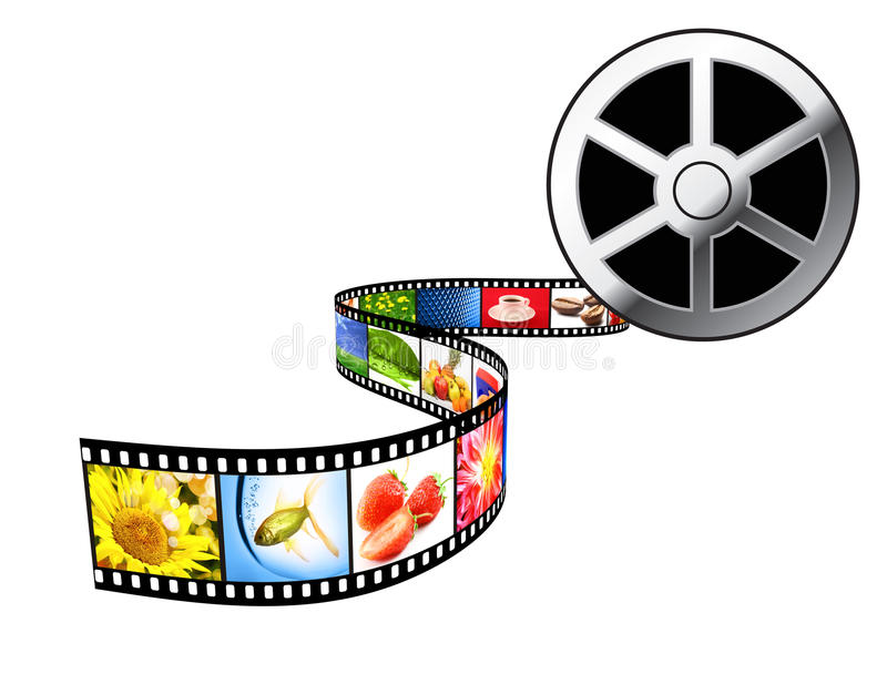 Film Strip. royalty free illustration