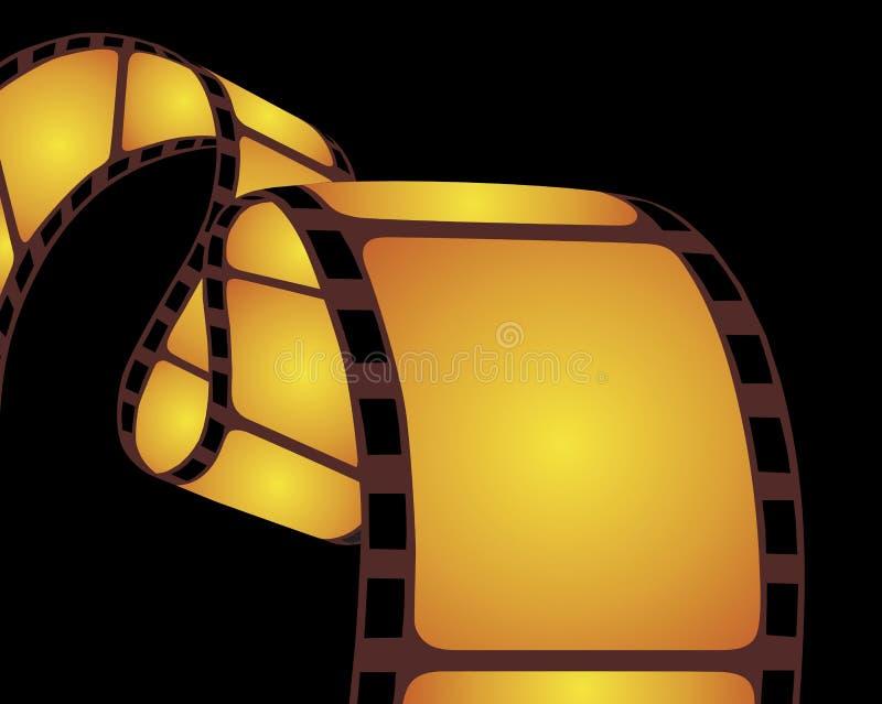 Film strip. Isolated film strip. Vector illustration stock illustration