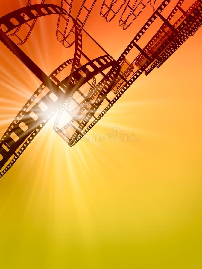 Download Film Strip stock illustration. Illustration of cutting - 12964723