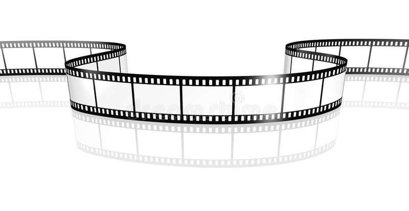 Film strip. An image of a film strip white royalty free illustration