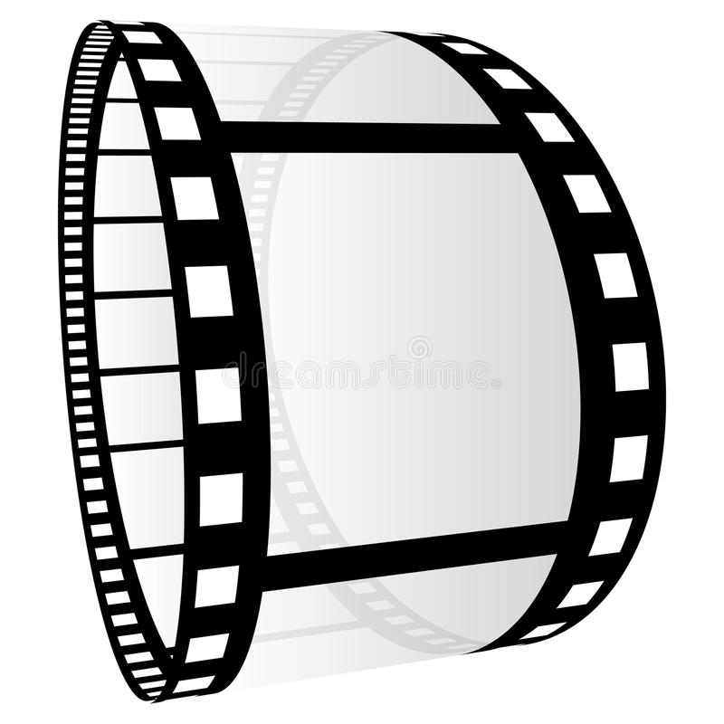 Film strip. Illustration on white background vector illustration