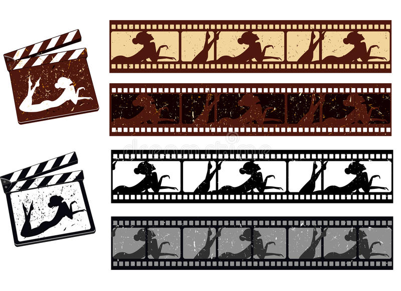 Film Strip Stock Photo