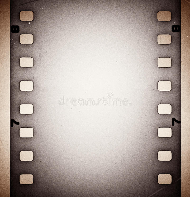 Download Film strip stock illustration. Image of sheet, stains - 24334587