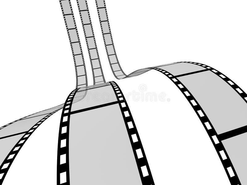 Film Strip 4 stock illustration