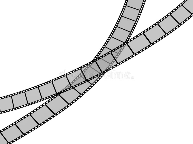 Download Film Strip stock illustration. Image of connection, cutout - 6906312