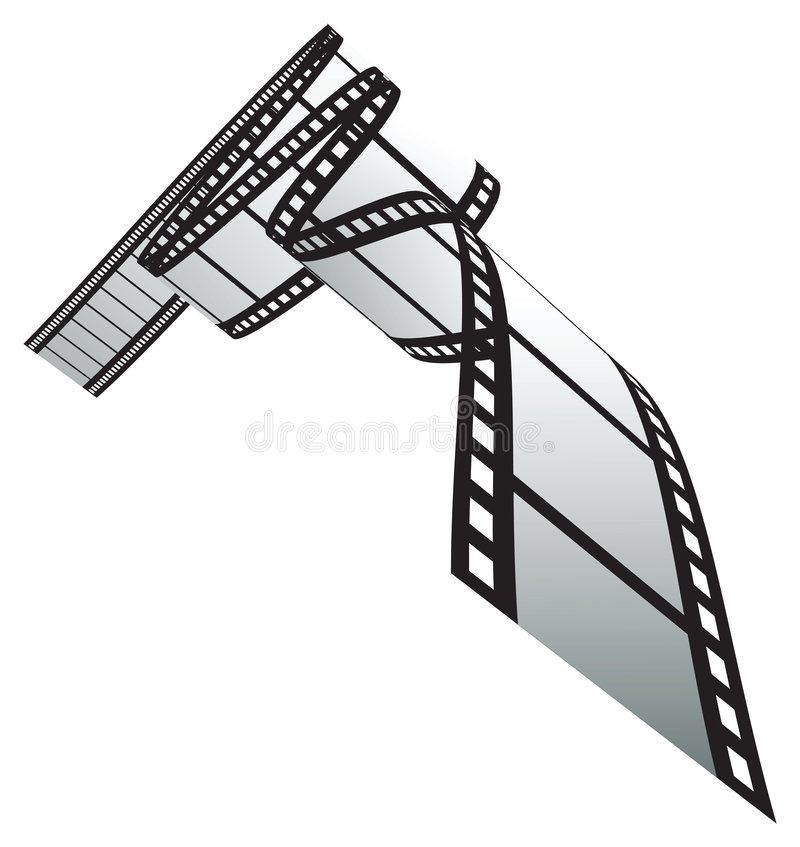 Film strip. Isolated film strip. vector illustration vector illustration
