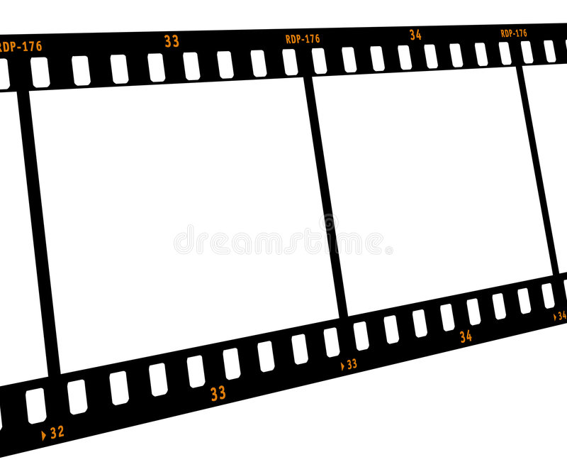 Film Strip stock illustration  Illustration of coil