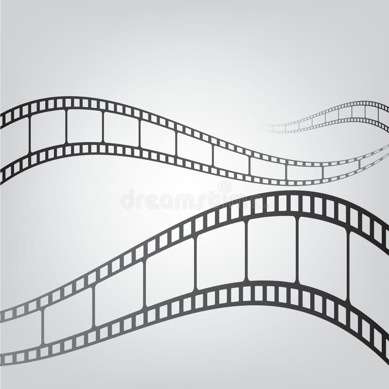 Film strip background vector illustration