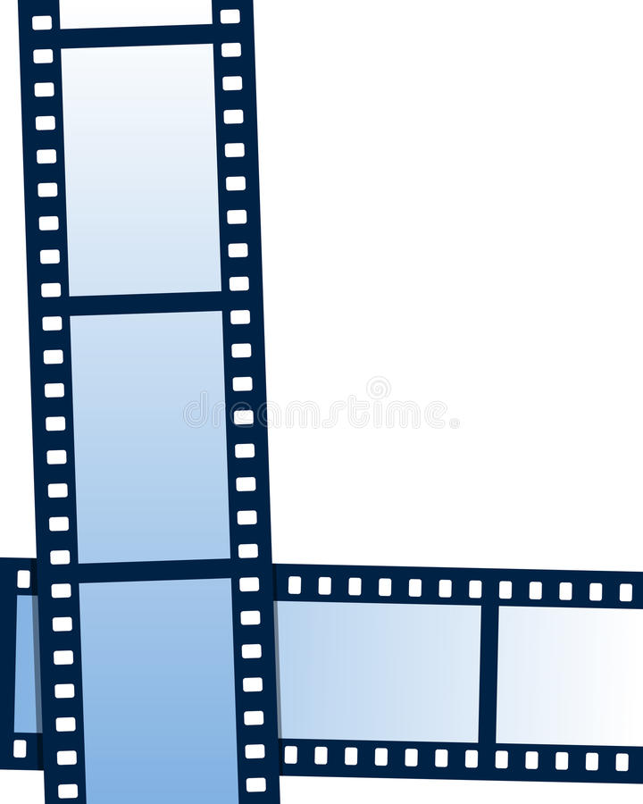Film Strip Background. Or frame, on white background. Eps file available royalty free illustration