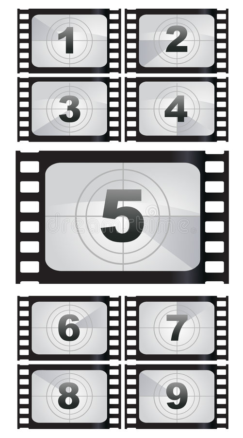 Free Film Strip Backgrounds Royalty Free Stock Photo - 9320145