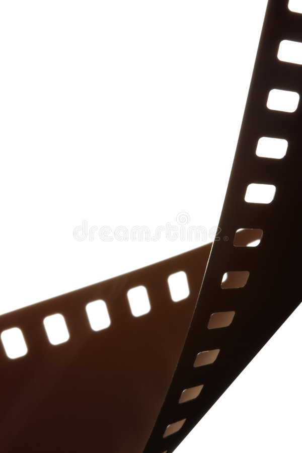 Download Film strip border stock illustration. Image of isolated - 4133403