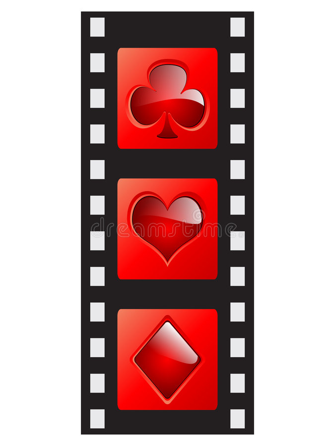 Download Film Strip - Casino Elements Stock Vector - Illustration: 7314202
