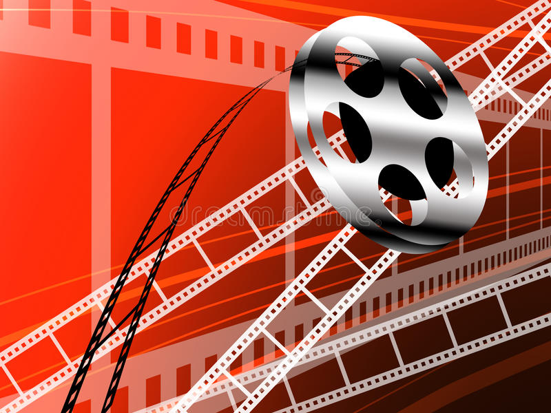 Download Film Strip And Roll, Cinema Technology Stock Illustration - Image: 22984546