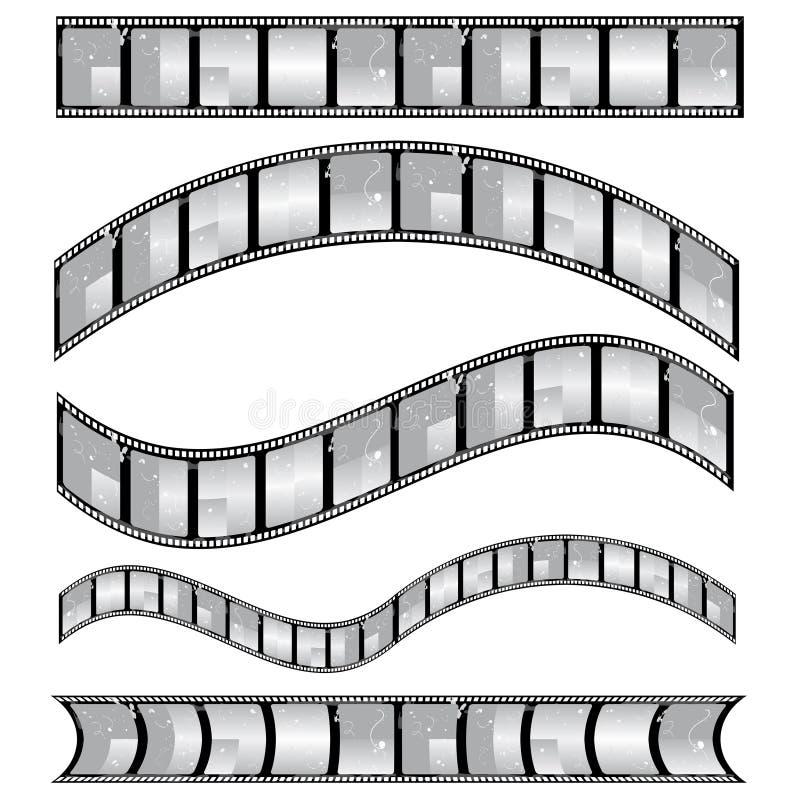 film strip vector royalty free illustration