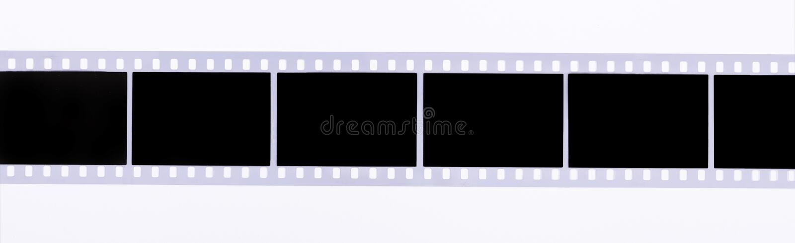 Film strip stock photography