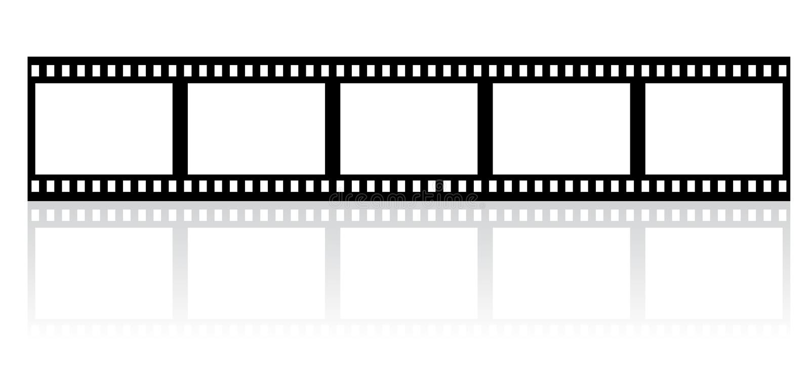 Download Film stripe stock vector. Illustration of video, cinematography - 14038481