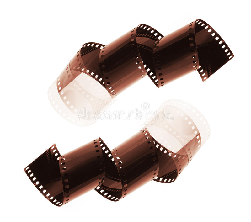 Download Film Strips stock image. Image of isolated, blank, industry - 10383833