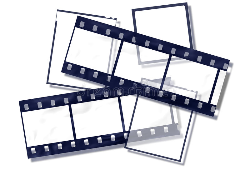 Download Film strips stock illustration. Image of noisy, scratch - 14496953