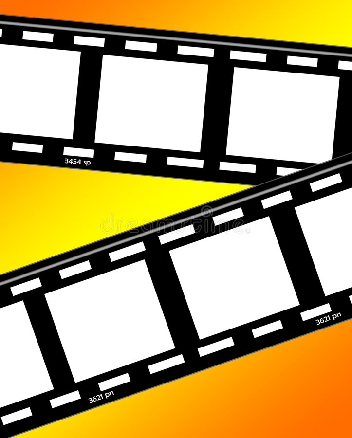 Film Strips 3 royalty free illustration