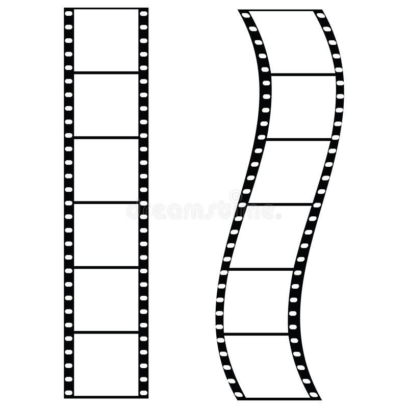 Film strips vector illustration