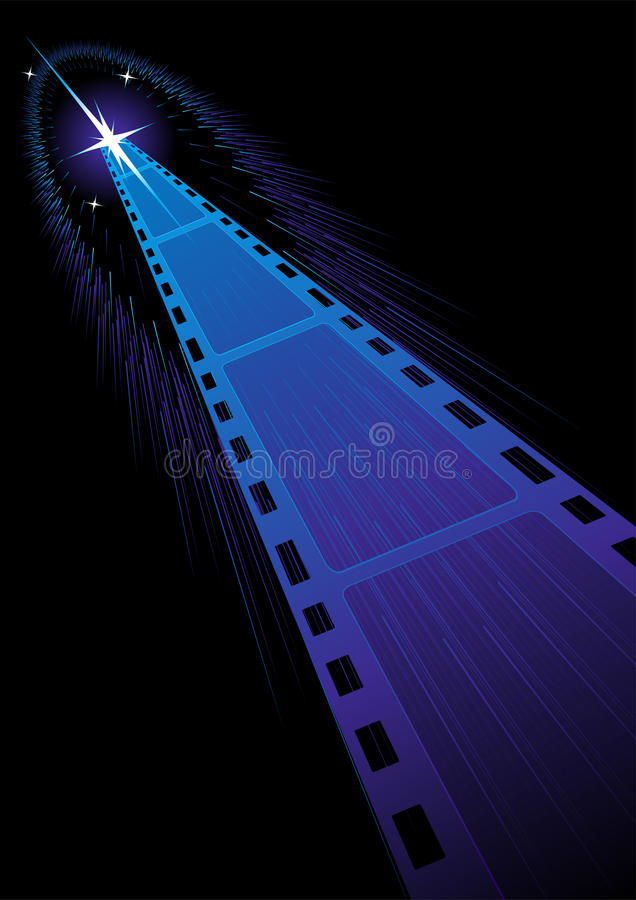 Download Film strips background stock vector. Image of background - 12198679