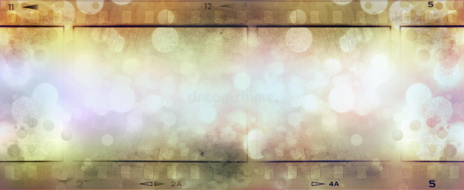 Film strips background royalty free stock image