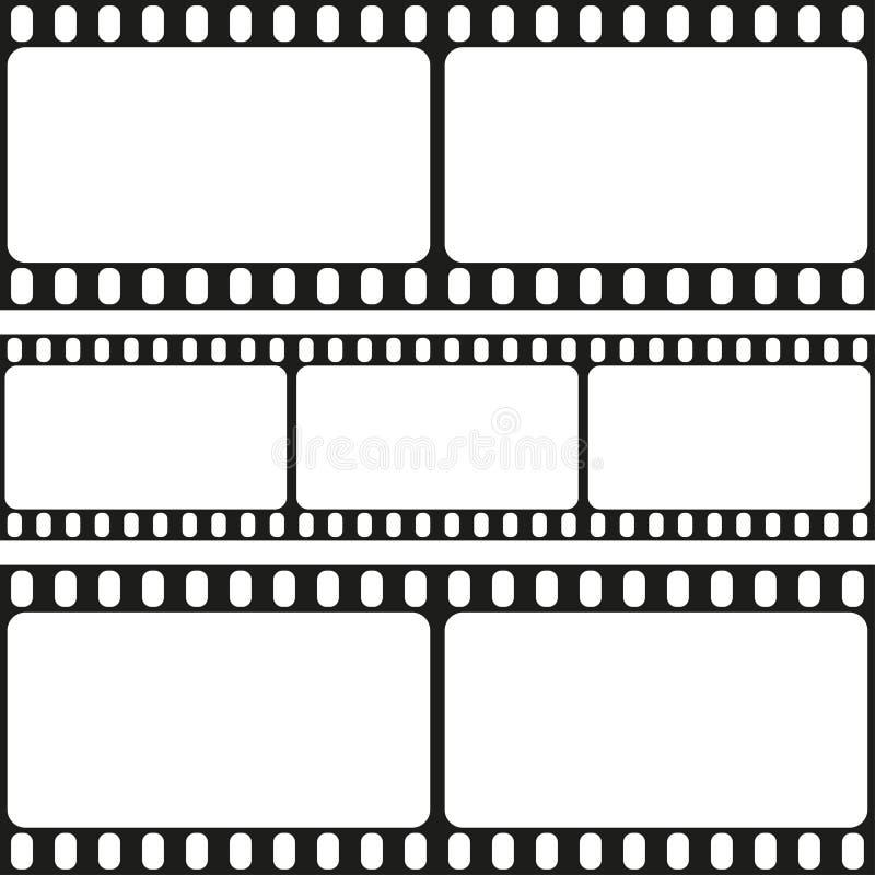 Film Strips Seamless Pattern, Vector Stock Vector - Illustration of ...