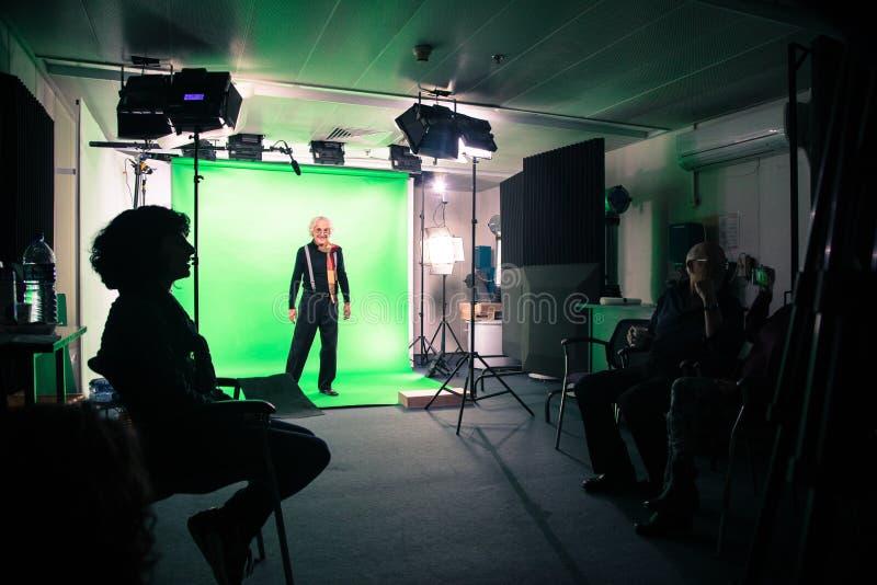 Film Studio, Green, Technology, Electronic Device royalty free stock photo