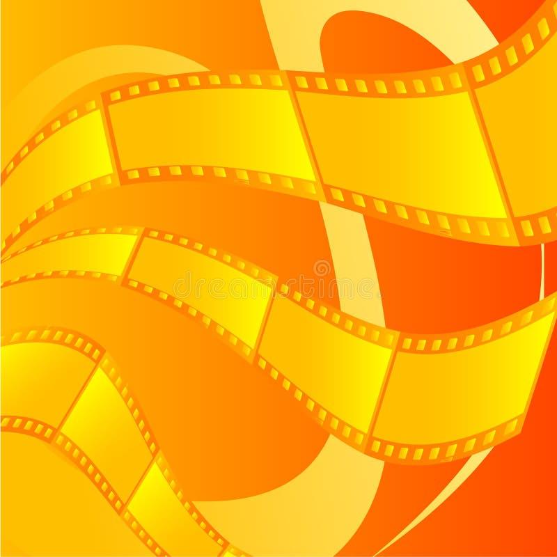 film tło ilustracja wektor